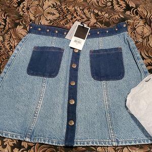 NWT Juicy Couture Skirt Sz 26. Mini.